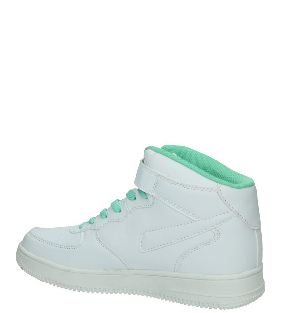 Damskie SPORTOWE CASU LXC7022 biały;zielony;