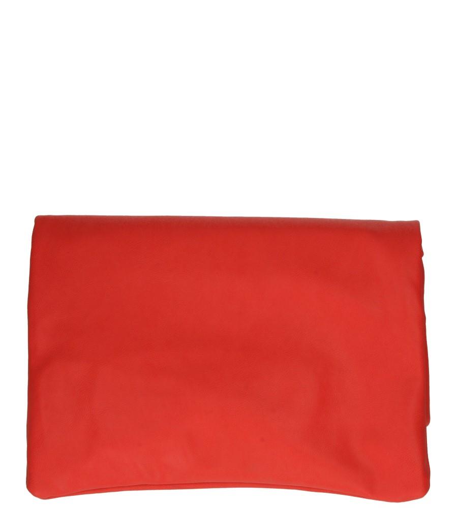 Damskie TOREBKA WIZYTOWA X-116 czerwony;;