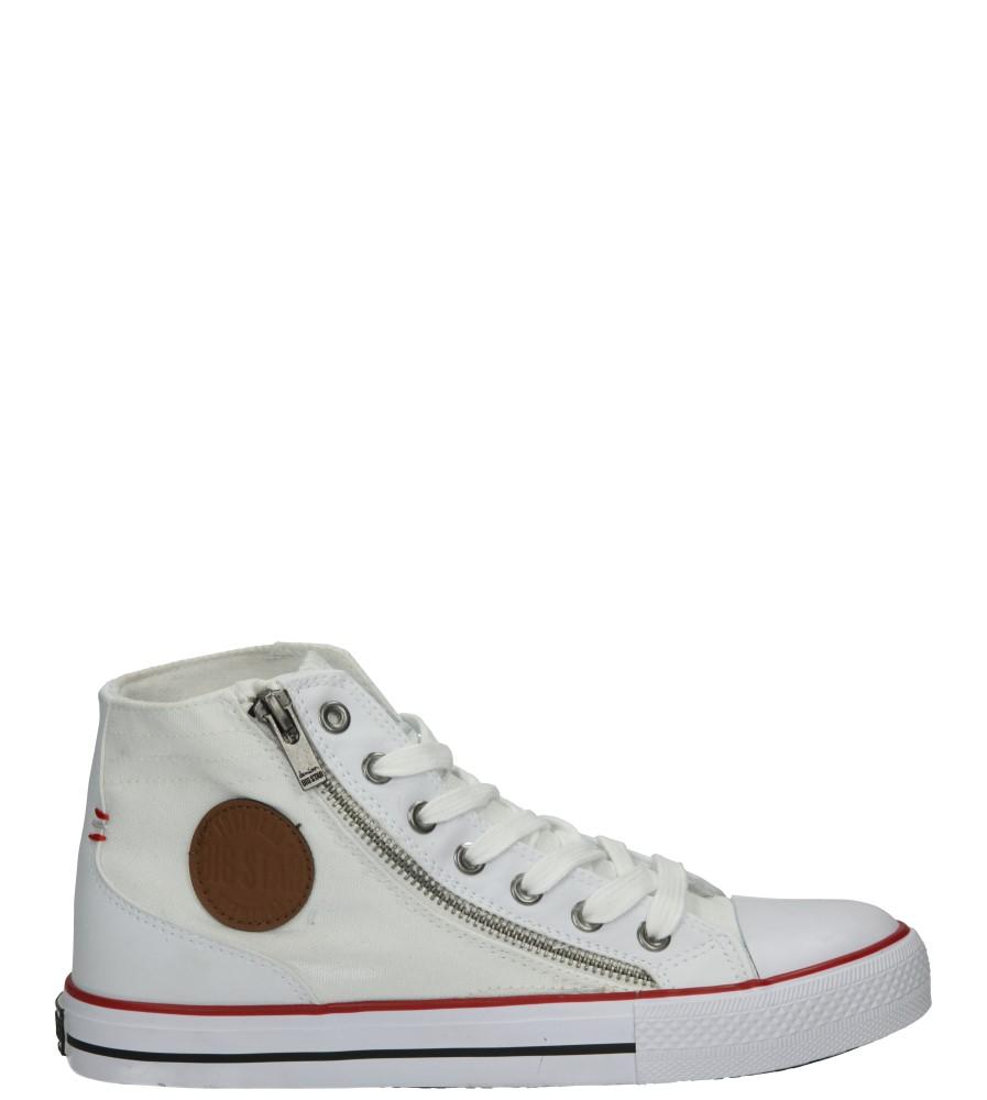 Damskie TRAMPKI BIG STAR T274007 biały;;