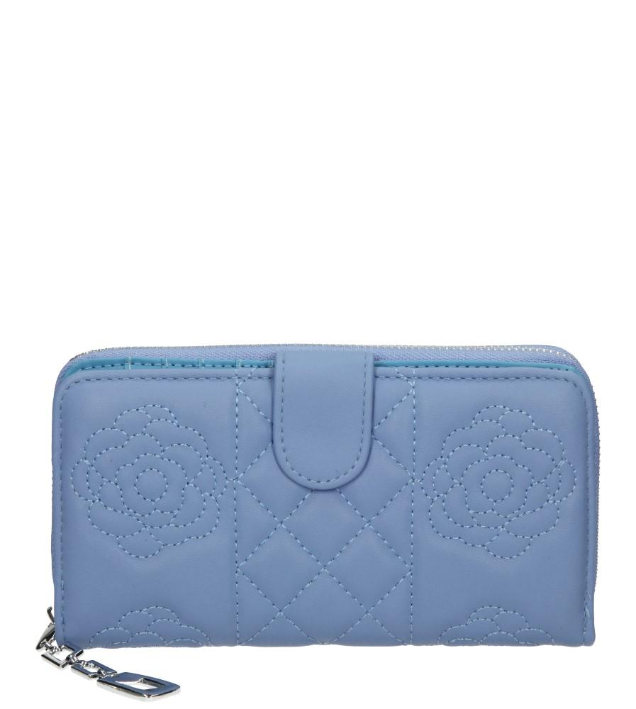 Damskie PORTFEL YUHE 6951 niebieski;;