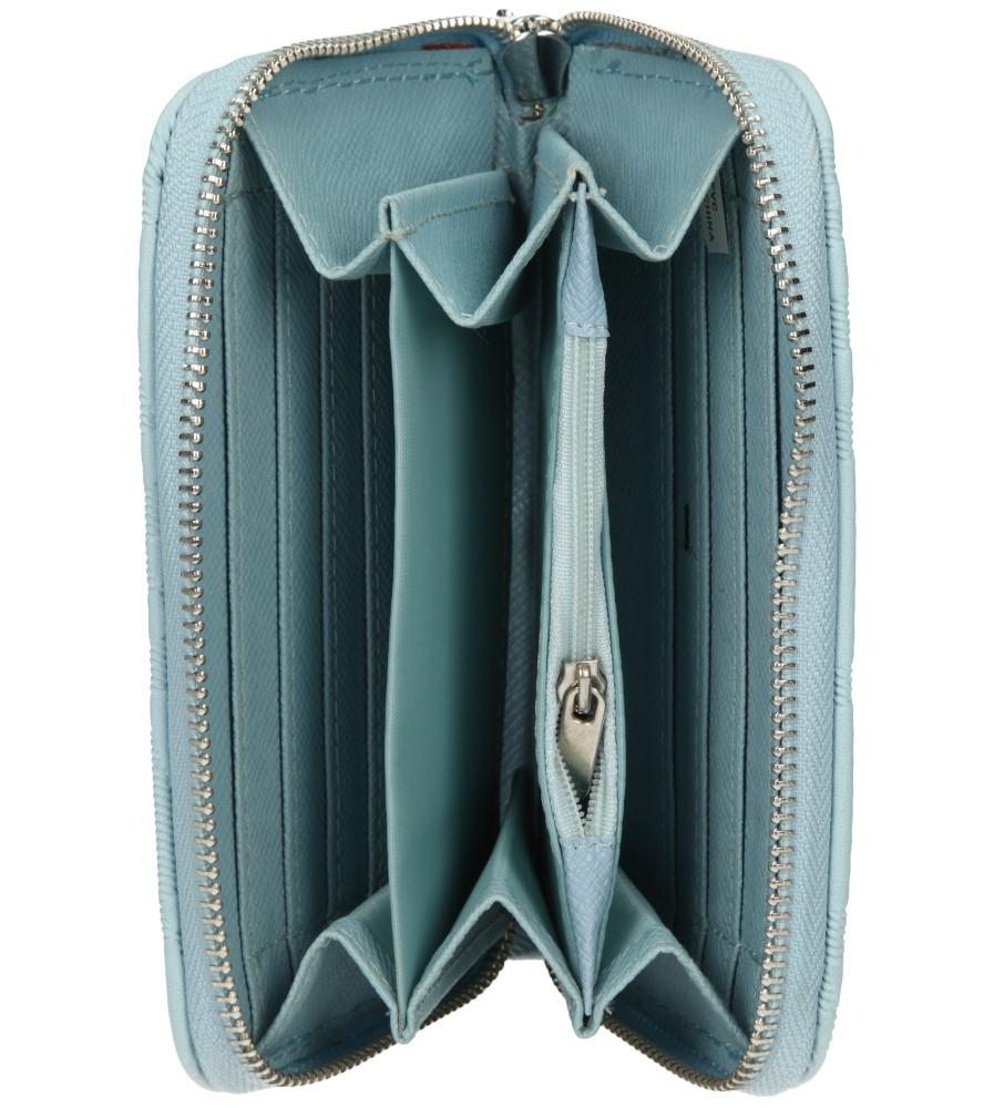 Damskie PORTFEL YUHE F6251 niebieski;;