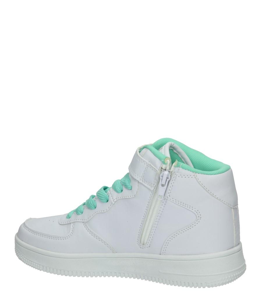 Dziecięce SPORTOWE CASU 5XC7022 biały;zielony;