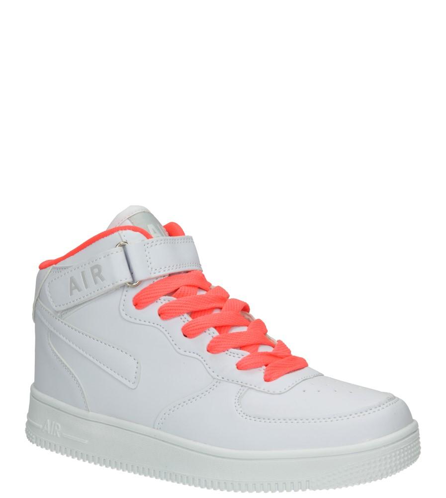 Dziecięce SPORTOWE CASU 5XC7022 biały;pomarańczowy;