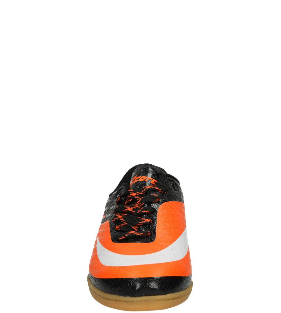 Męskie SPORTOWE LXC7057 czarny;pomarańczowy;