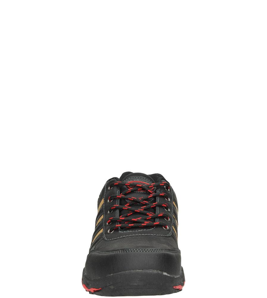 Męskie PÓŁBUTY CASU MXC7006 czarny;czerwony;