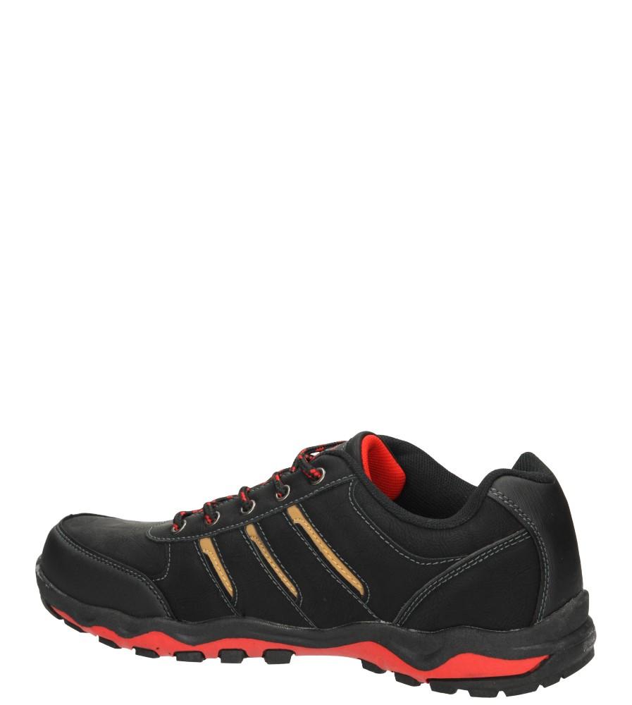 PÓŁBUTY CASU MXC7006 kolor czarny, czerwony