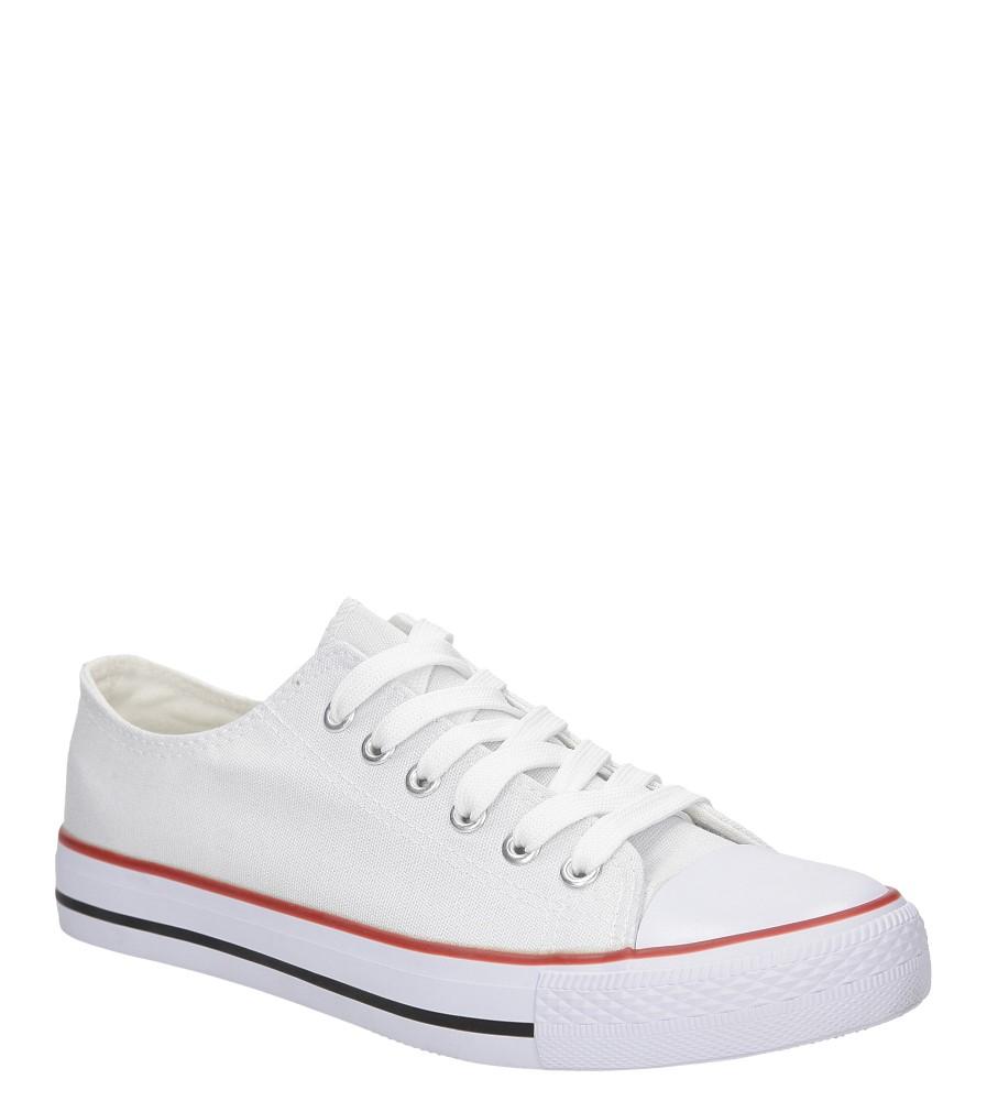 Damskie Trampki Casu TL12 biały;;