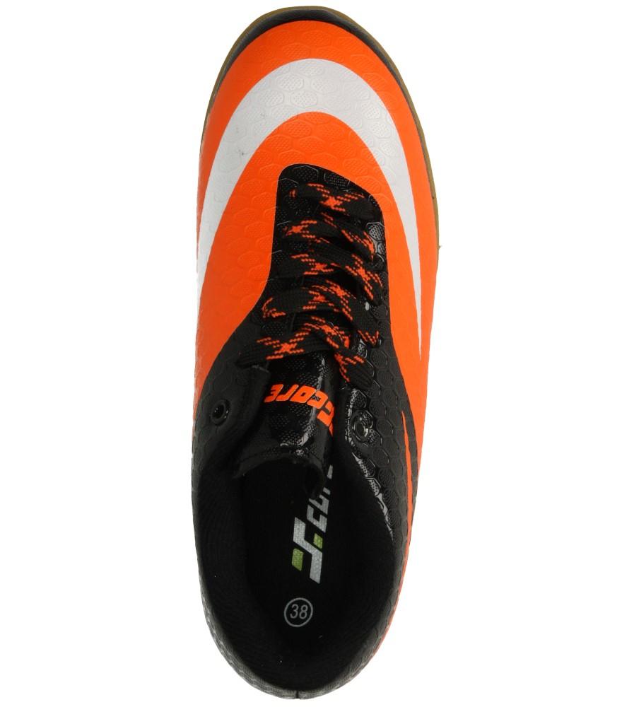 Męskie SPORTOWE CASU MXC7057 czarny;pomarańczowy;