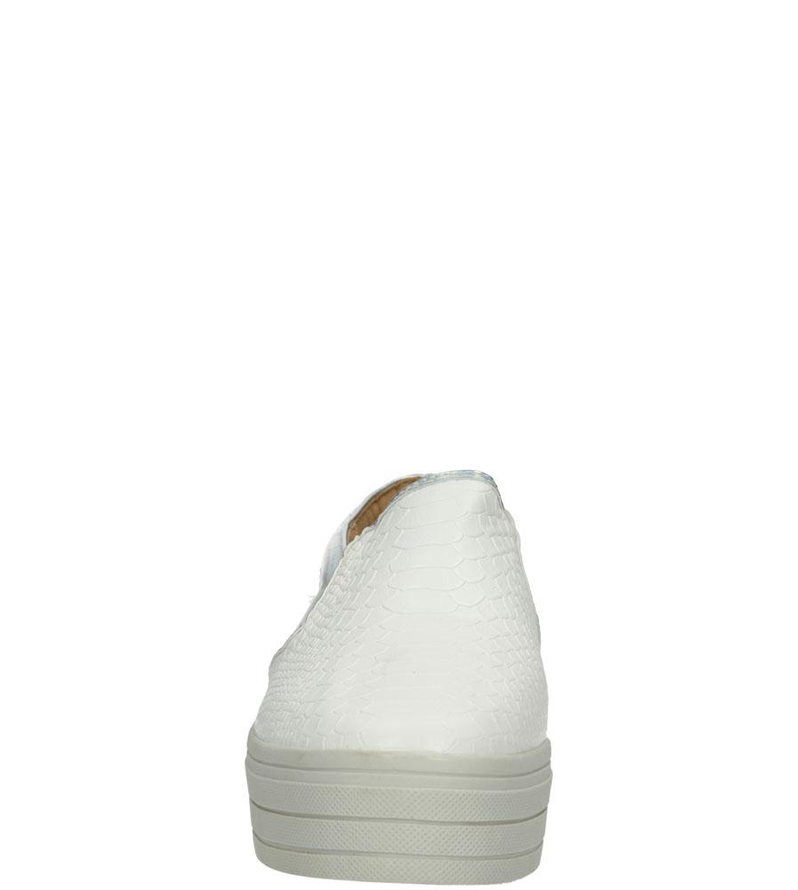Damskie CREEPERSY CASU ME01 biały;;