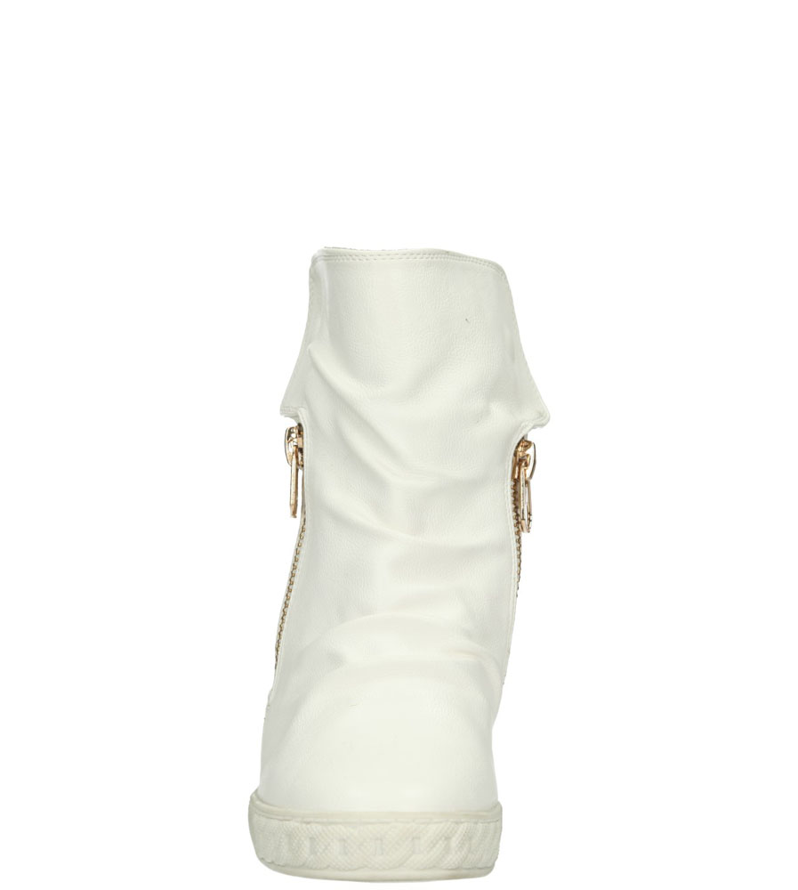 Damskie SNEAKERSY CASU VICES Y454 biały;;
