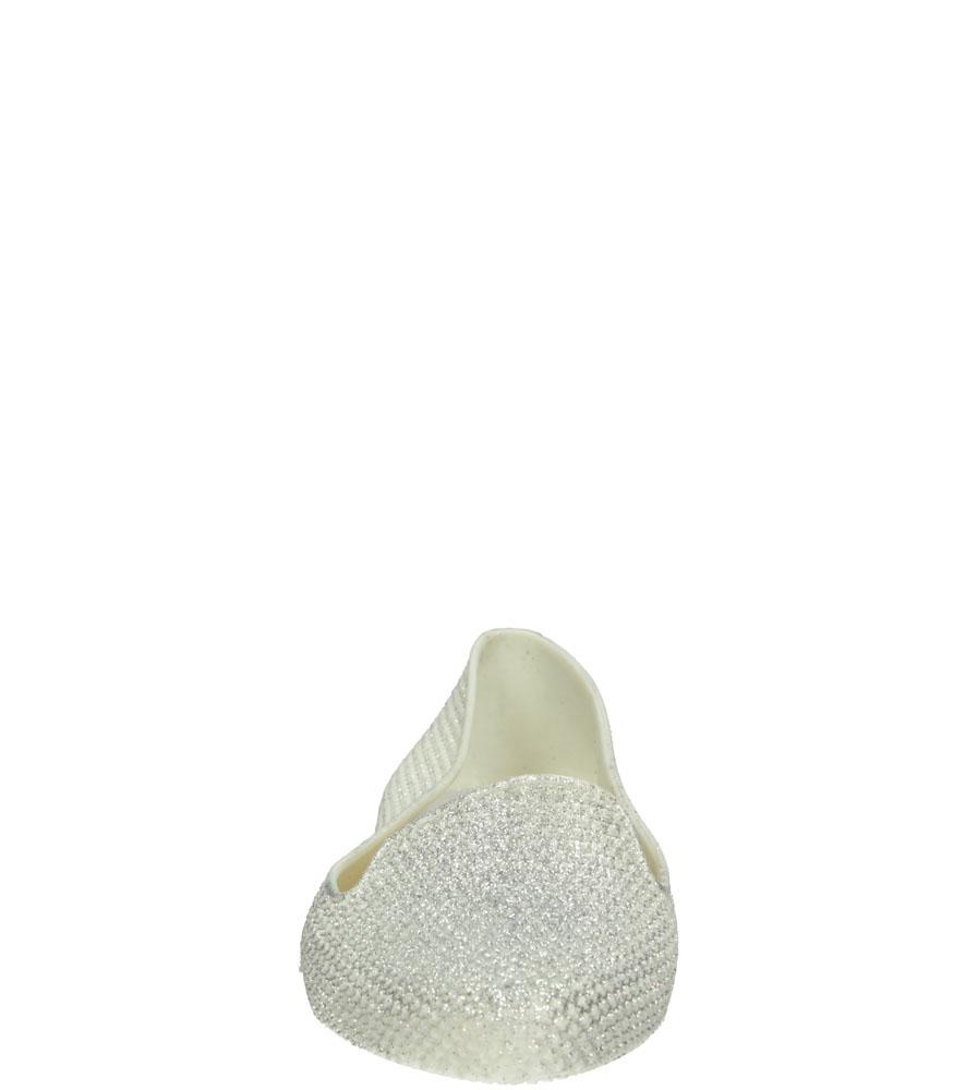 Damskie MELISKI CASU 7F-LE85400 biały;;