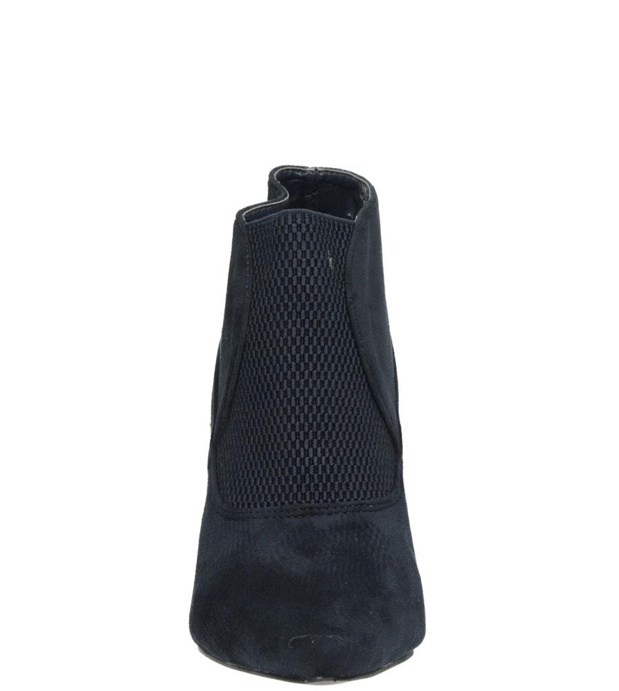 Damskie BOTKI CASU M222P niebieski;;
