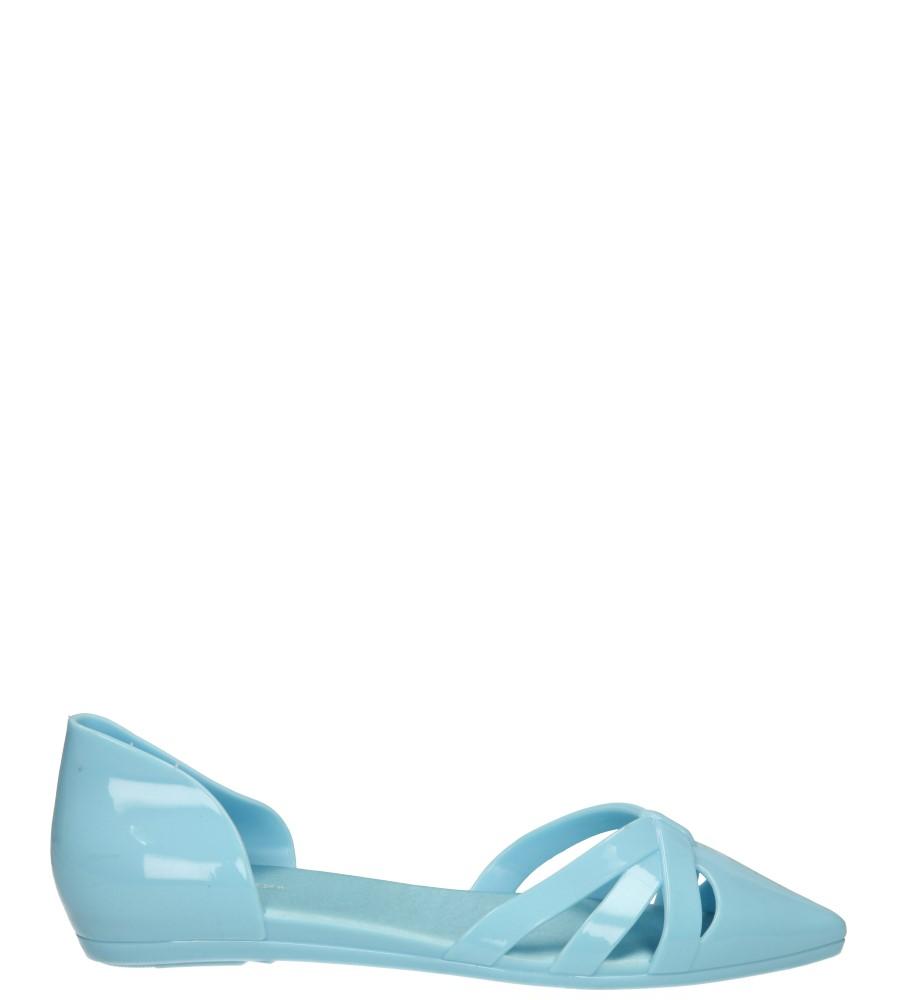 Damskie MELISKI CASU T-9125 niebieski;;