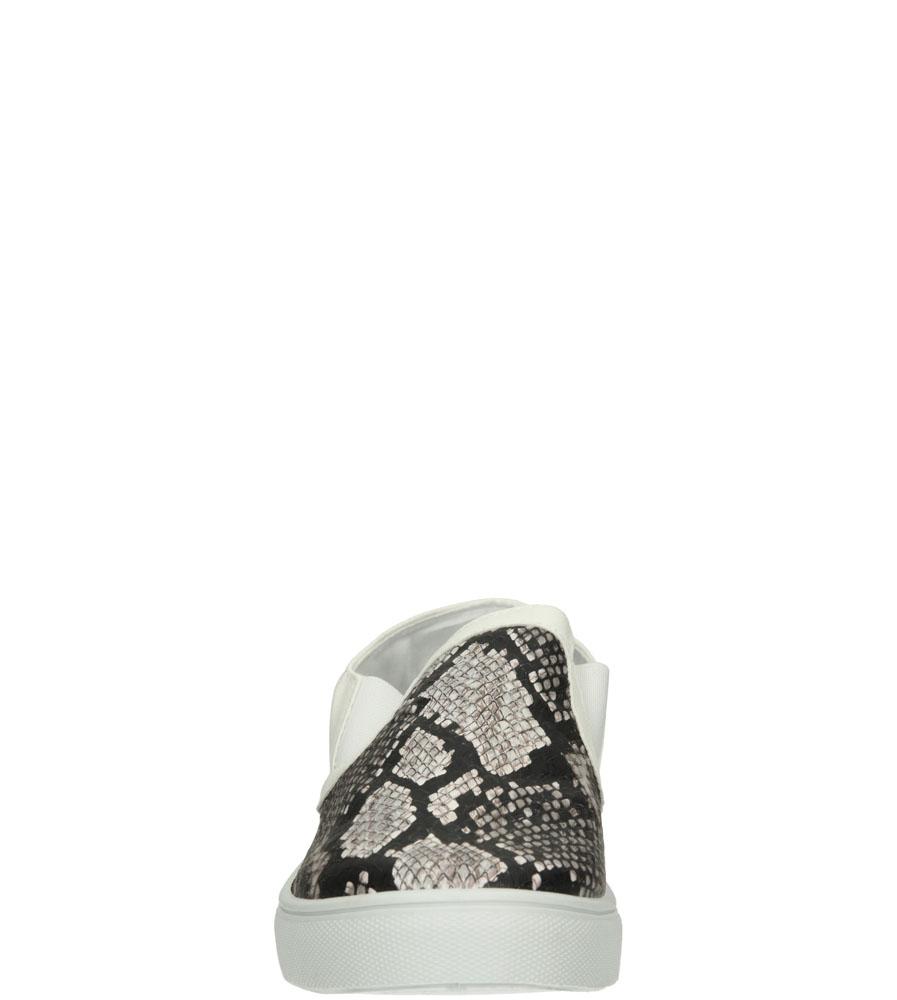 Damskie CREEPERSY CASU 7TX-AI84982 brązowy;czarny;biały