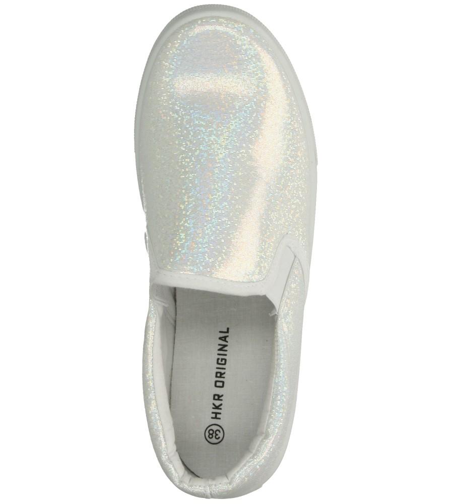 CREEPERSY CASU 7TX-AI85792 kolor biały, srebrny