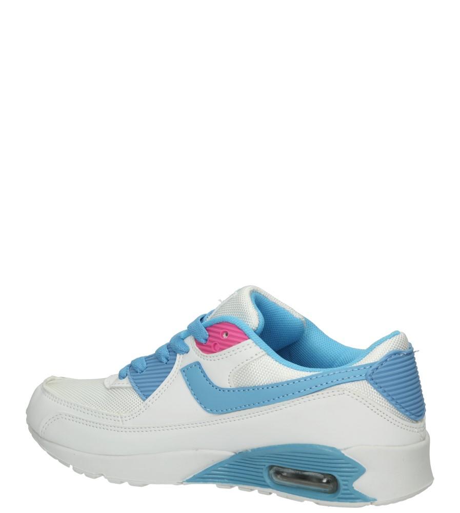 SPORTOWE CASU 7A-HG85085 kolor biały, jasny niebieski