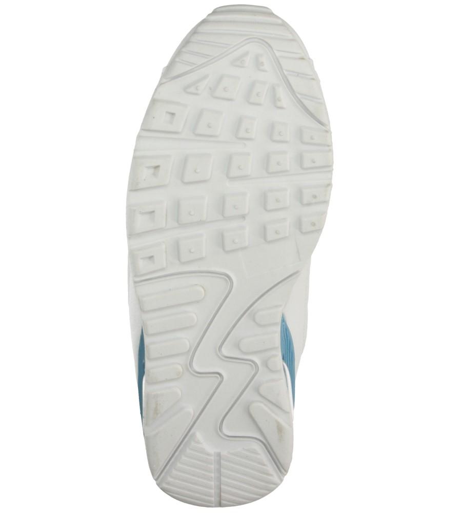 Damskie SPORTOWE CASU 7A-HG85085 biały;niebieski;