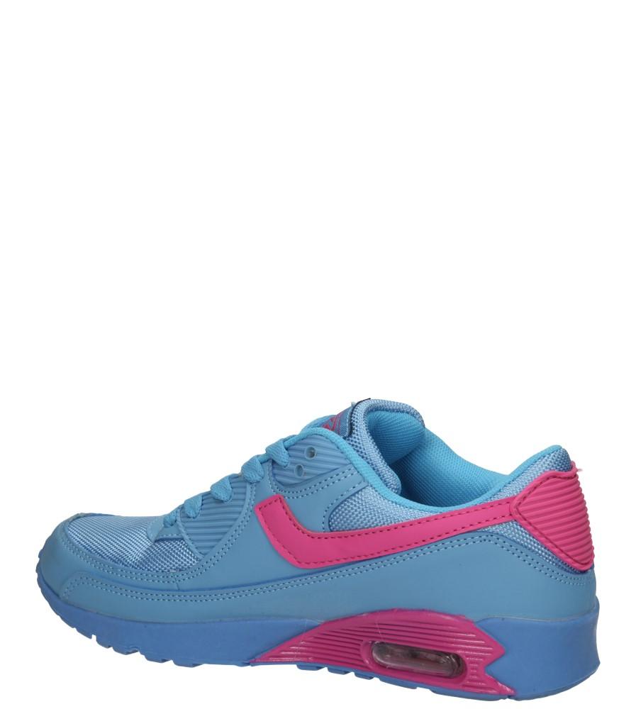Damskie SPORTOWE CASU 7A-HG85085 niebieski;różowy;