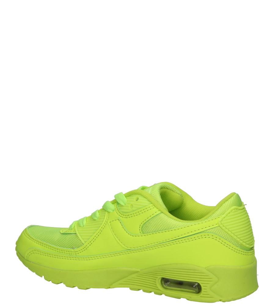 SPORTOWE CASU 7A-HG85659 kolor żółty