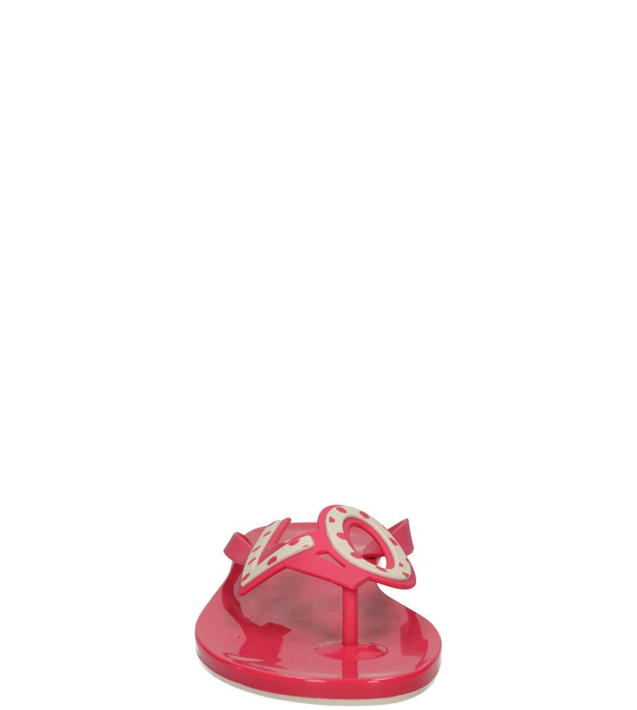 Damskie MELISKI MEL BY MELISSA 32112 różowy;beżowy;