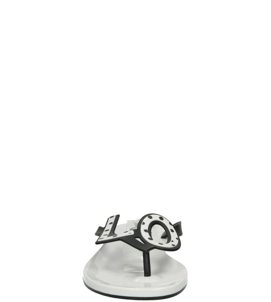 Damskie MELISKI MEL BY MELISSA 32112 biały;czarny;