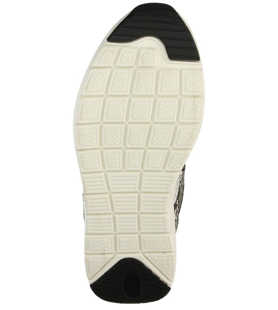 Damskie SPORTOWE BLINK 601536 czarny;biały;