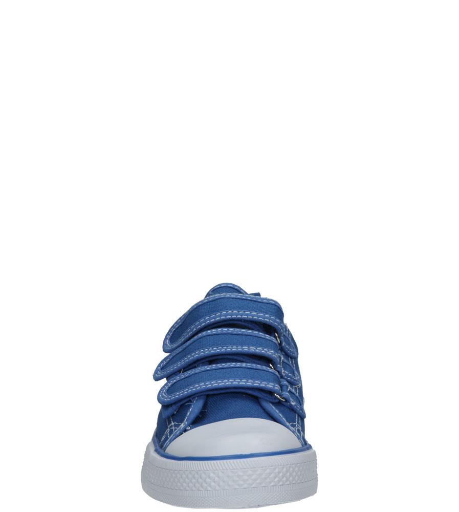 Dziecięce TRAMPKI AMERICAN LH-16-DSTC02-2 niebieski;biały;