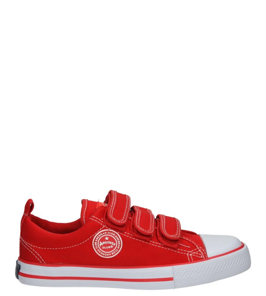 Dziecięce TRAMPKI AMERICAN LH-16-DSTC02-2 czerwony;biały;