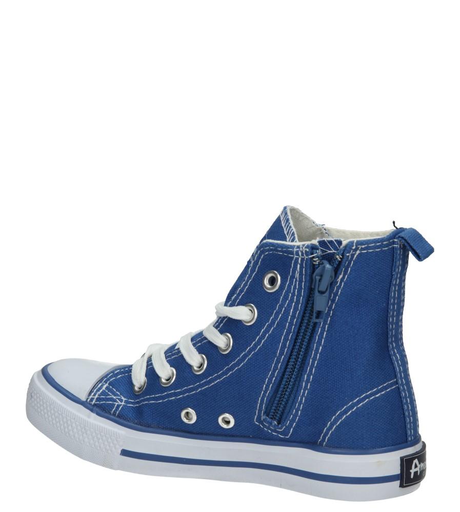 TRAMPKI AMERICAN LH-15-9120-1 kolor biały, niebieski
