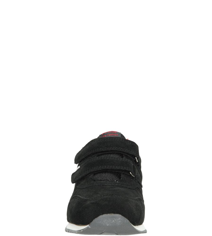 Dziecięce SPORTOWE AMERICAN K131666 czarny;czerwony;