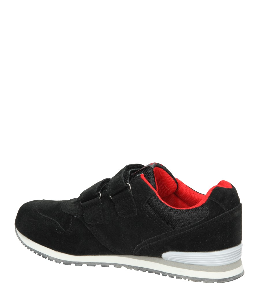 SPORTOWE AMERICAN K131666 kolor czarny, czerwony