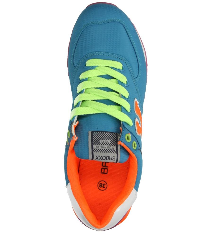 Damskie SPORTOWE CASU LXC6915 niebieski;pomarańczowy;zielony