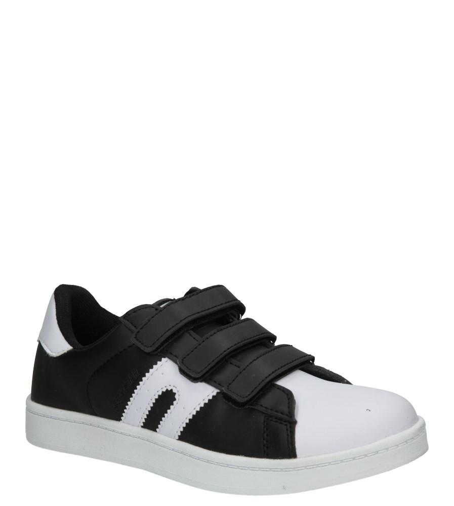 Dziecięce PÓŁBUTY 5XC7072 czarny;biały;