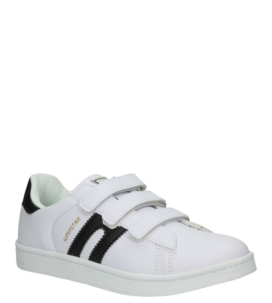 Dziecięce PÓŁBUTY 5XC7072 biały;czarny;
