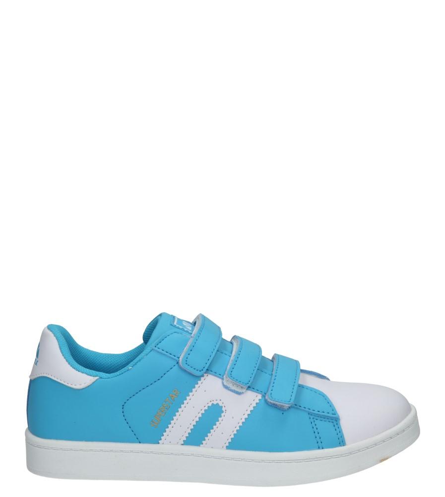 Dziecięce PÓŁBUTY 5XC7075 niebieski;biały;