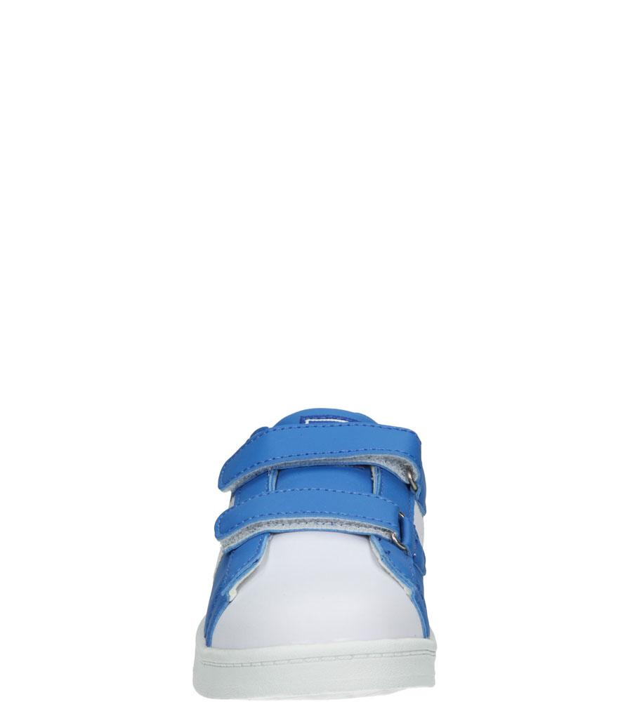 Dziecięce PÓŁBUTY 3XC7073 niebieski;biały;