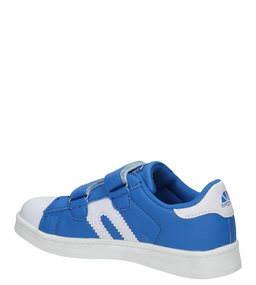 PÓŁBUTY 3XC7073 kolor biały, niebieski