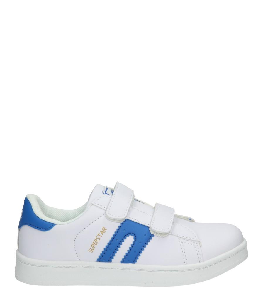 Dziecięce PÓŁBUTY 3XC7073 biały;niebieski;