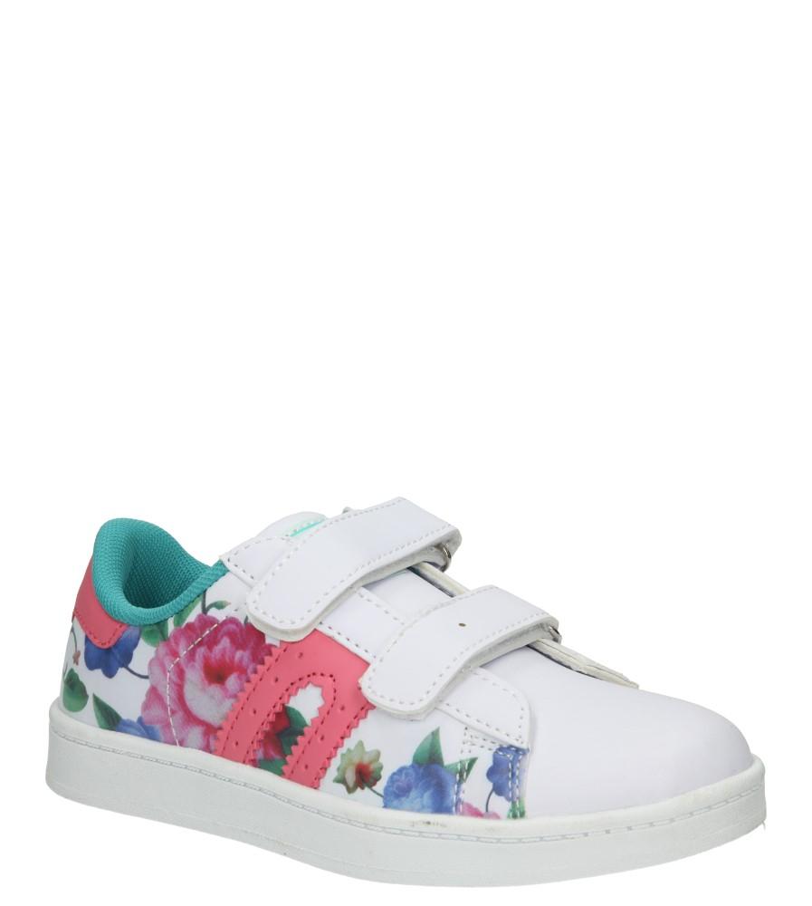 Dziecięce PÓŁBUTY 3XC7076 biały;różowy;