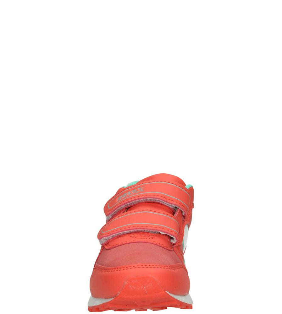 Dziecięce SPORTOWE 3XC7049 pomarańczowy;zielony;