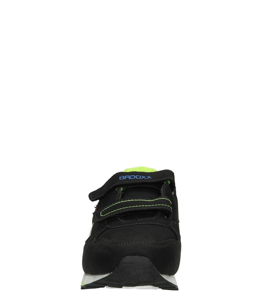 Dziecięce SPORTOWE 3XC6870 czarny;zielony;