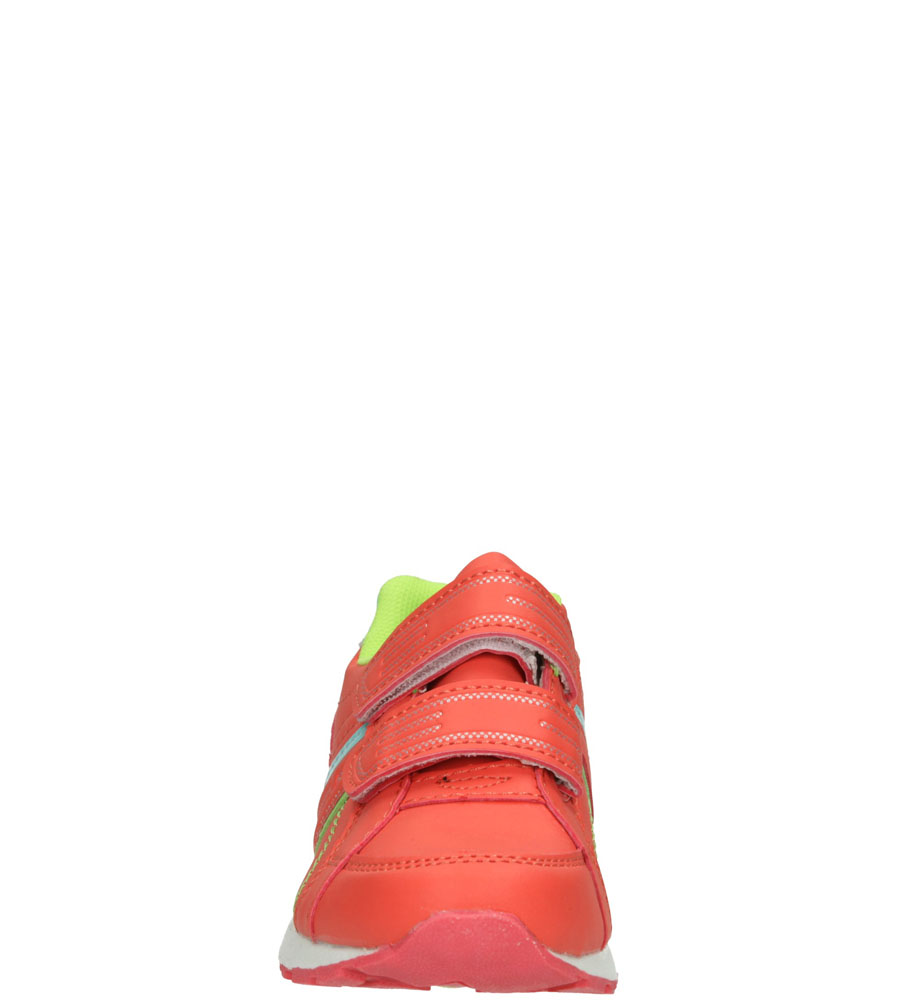 Dziecięce SPORTOWE 1XC6854 pomarańczowy;zielony;