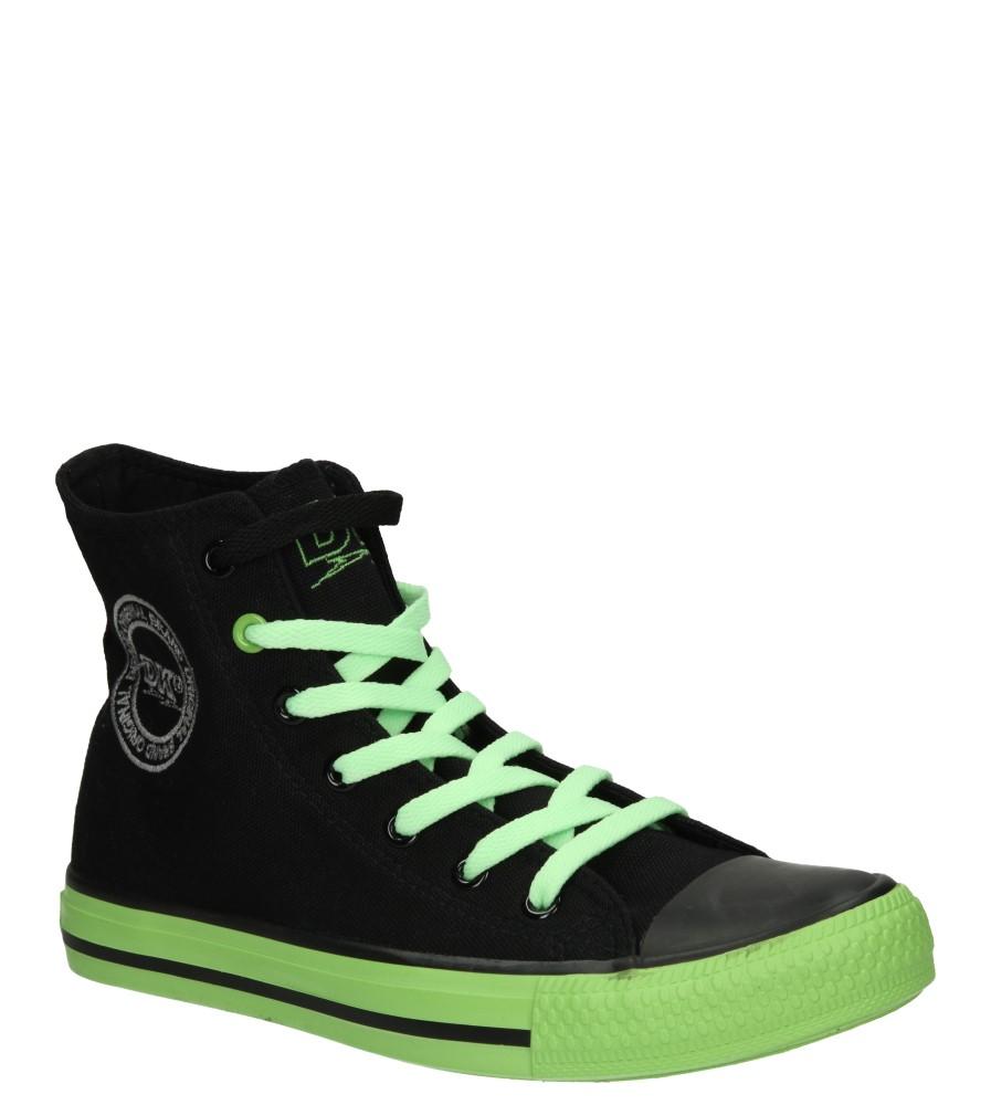 Damskie TRAMPKI DK 14SS039 czarny;zielony;
