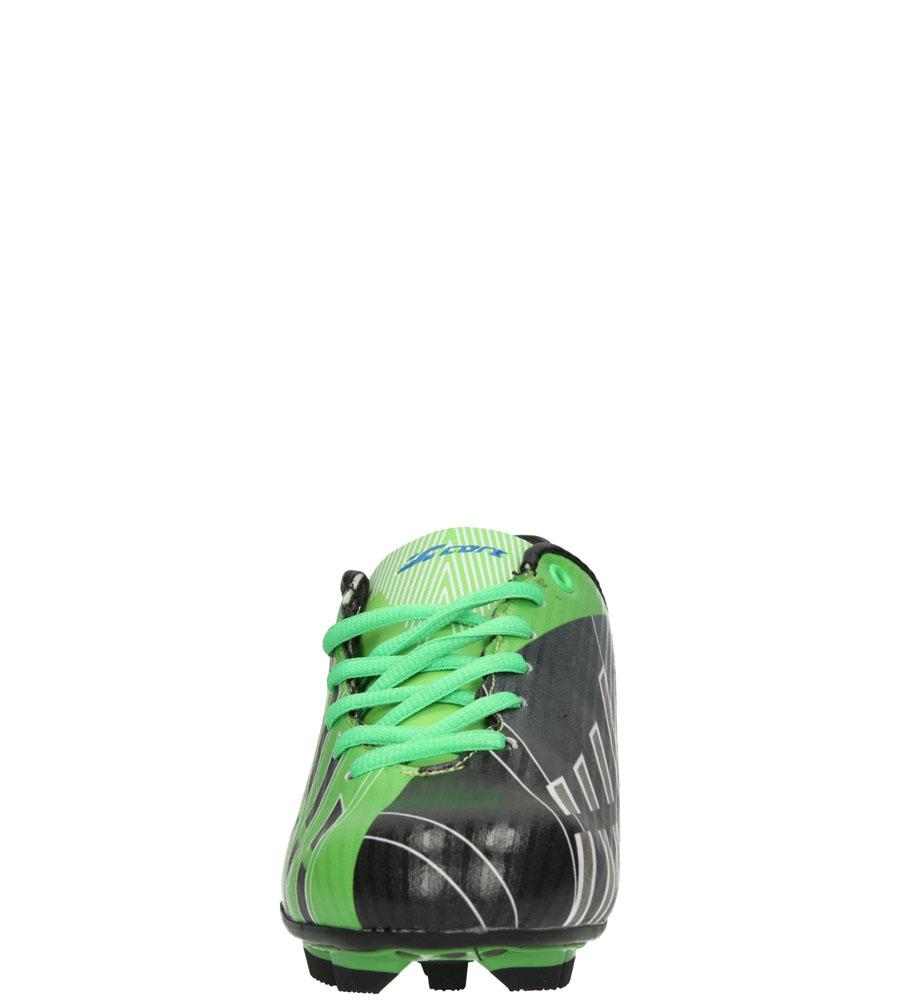 Dziecięce SPORTOWE 5FB1395 czarny;zielony;
