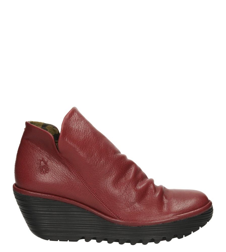Damskie BOTKI FLY LONDON P500505020 czerwony;;