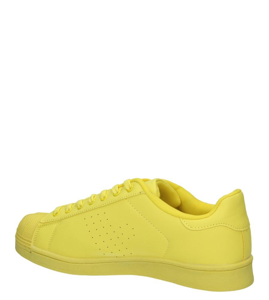 Męskie SPORTOWE CASU C19001H żółty;;