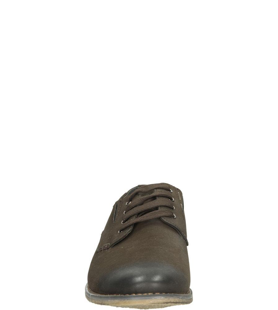 Męskie PÓŁBUTY CASU D803 brązowy;;
