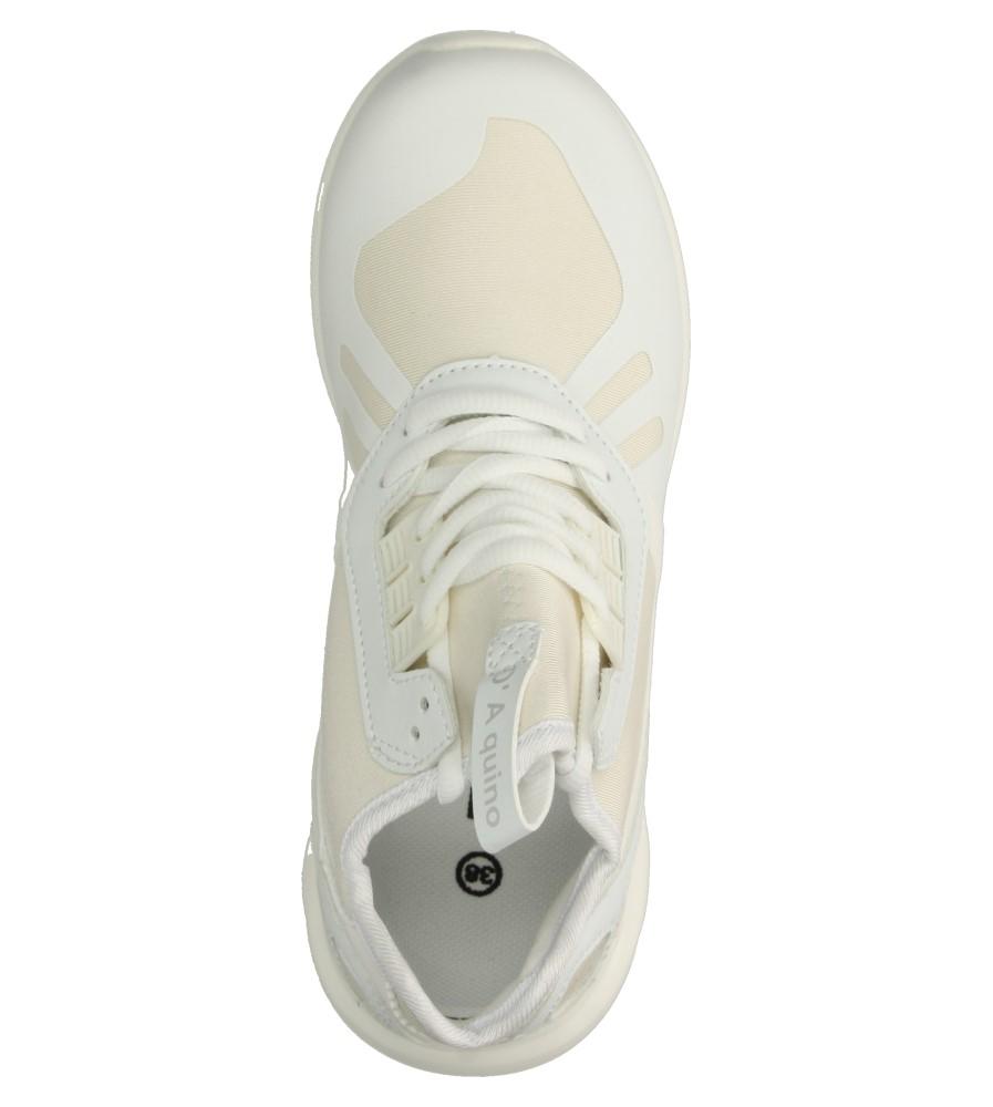 Damskie SPORTOWE CASU 807 biały;;