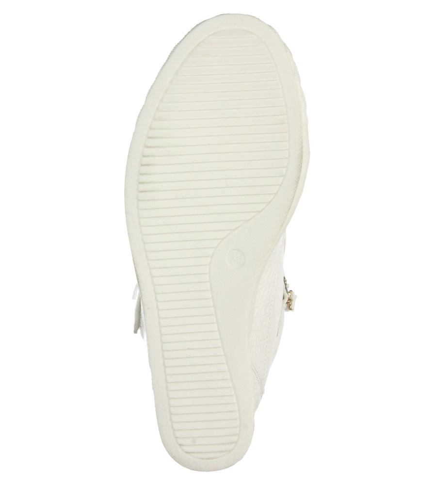 Damskie SNEAKERSY CASU M85 biały;;