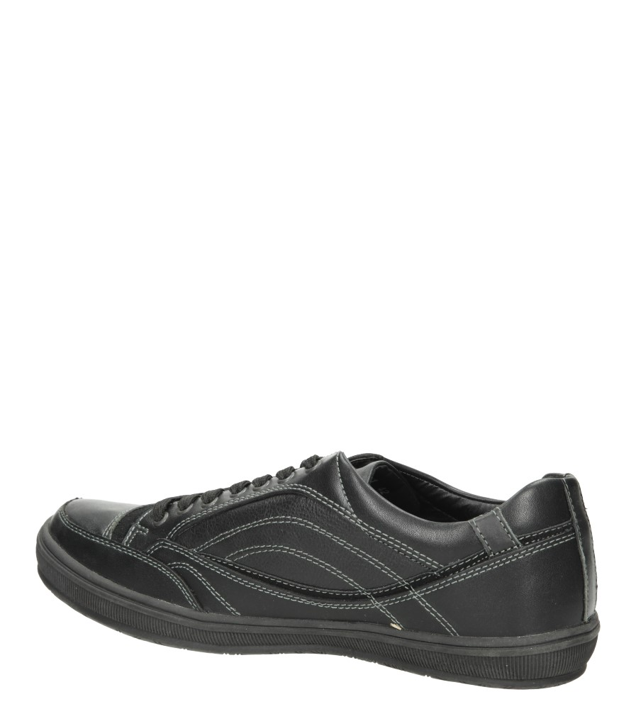 PÓŁBUTY CASU F100461 kolor czarny